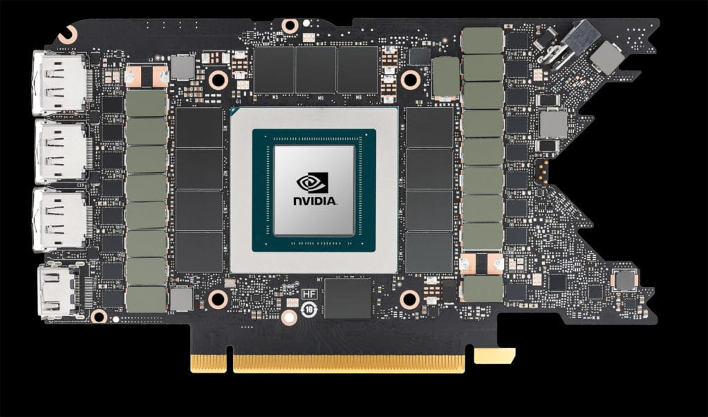NVIDIA GeForce RTX 3080 Ti Founders Edition bare pcb front side