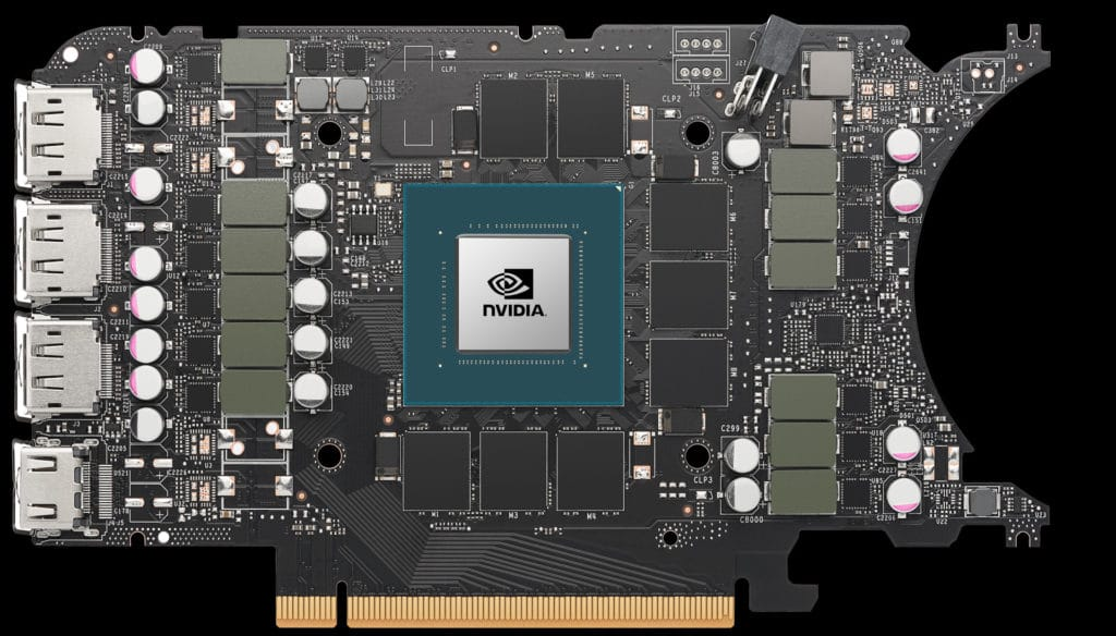 NVIDIA GeForce RTX 3070 Ti Founders Edition bare PCB