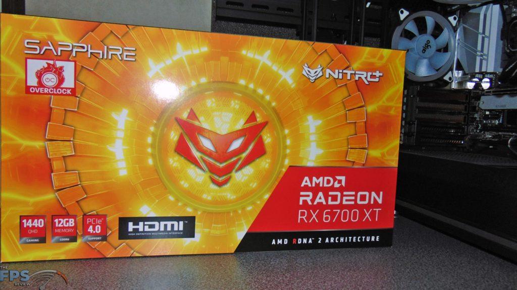 SAPPHIRE NITRO+ Radeon RX 6700 XT GAMING OC box front