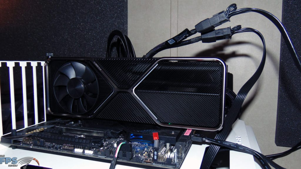 NVIDIA GeForce RTX 3080 Ti Founders Edition installed in computer