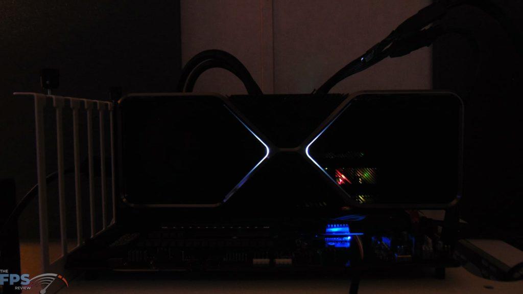 NVIDIA GeForce RTX 3080 Ti Founders Edition rgb lighting