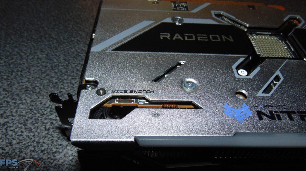 SAPPHIRE NITRO+ Radeon RX 6700 XT GAMING OC video card bios switch