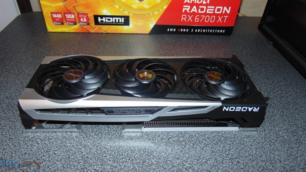 SAPPHIRE NITRO+ Radeon RX 6700 XT GAMING OC video card front side