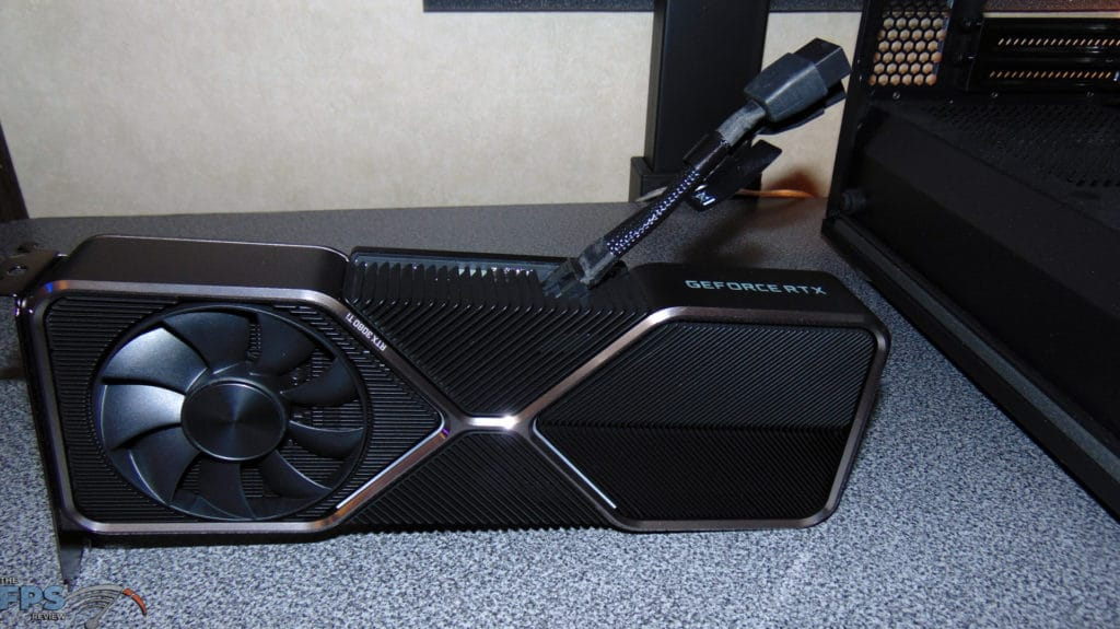 NVIDIA GeForce RTX 3080 Ti Founders Edition 12pin power adapter