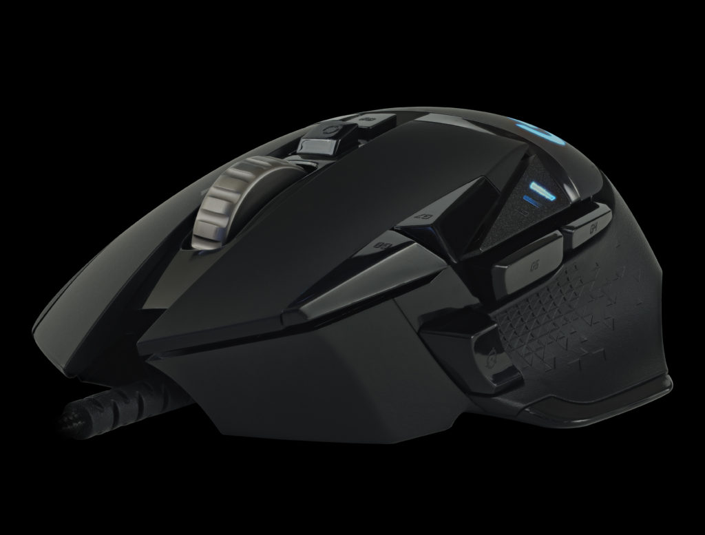 Logitech G502 HERO High Performance Gaming Mouse front left