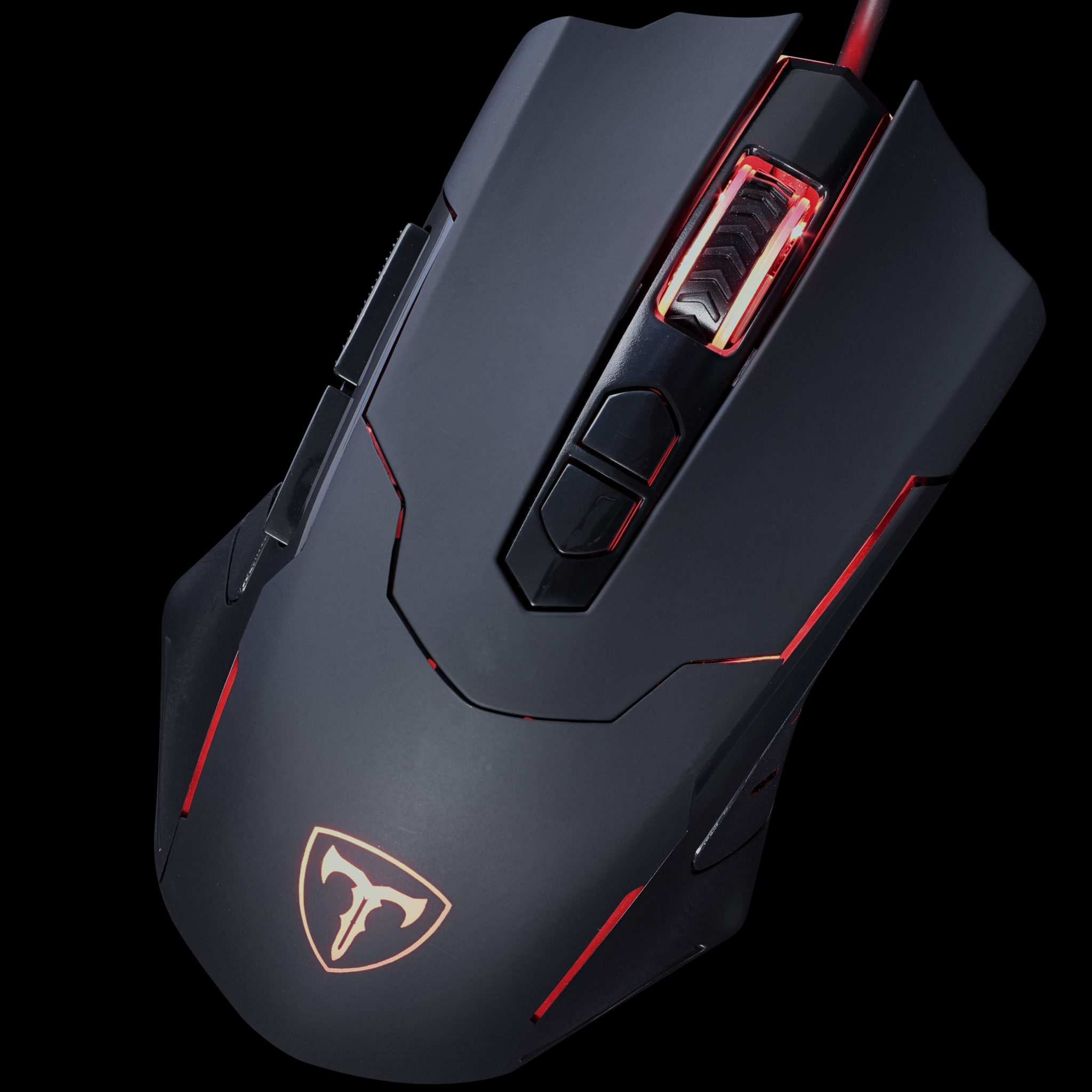 PICTEK T7 Wired Gaming Mouse Top View