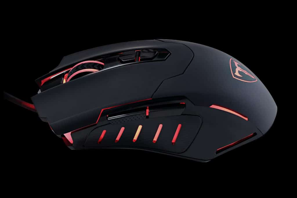 PICTEK T7 Wired Gaming Mouse Side View