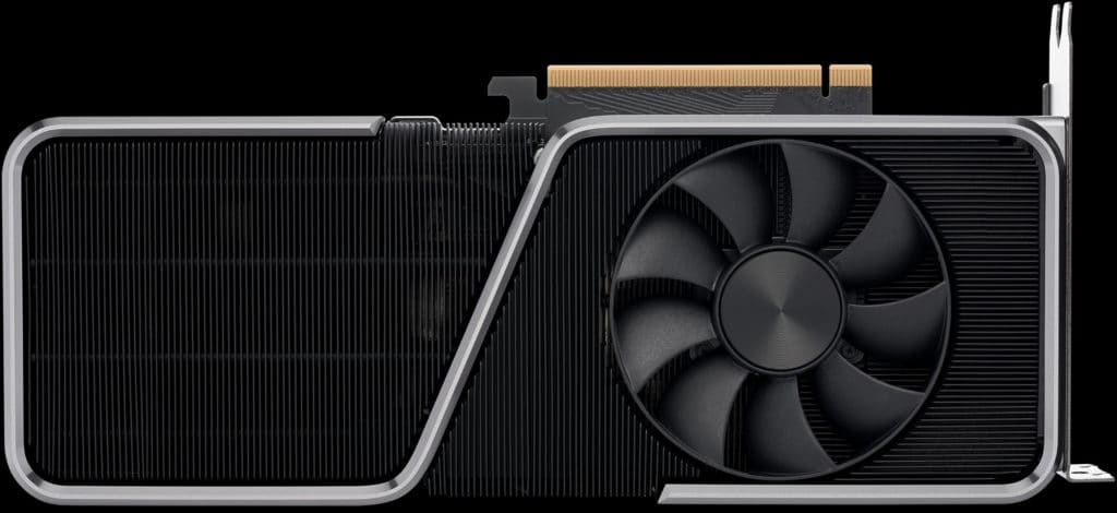 NVIDIA GeForce RTX 3070 Ti Founders Edition video card front side