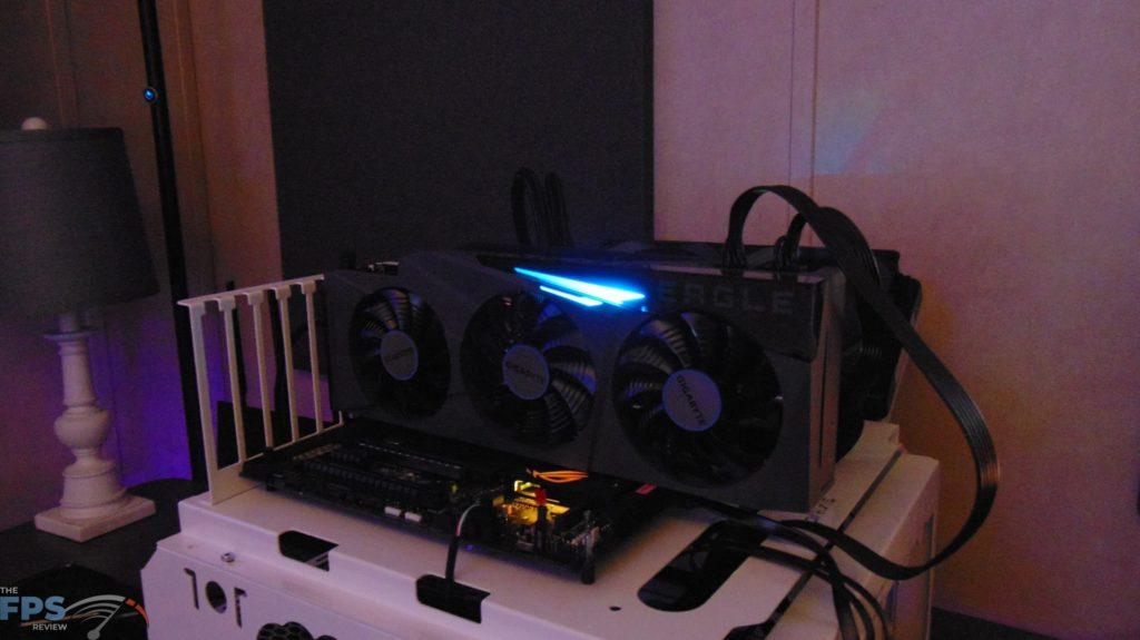 GIGABYTE GeForce RTX 3080 Ti EAGLE 12G Video Card rgb