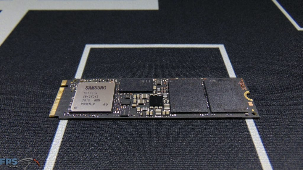 Samsung 970 EVO Plus NVMe M.2 SSD 500GB Top View Bare Drive
