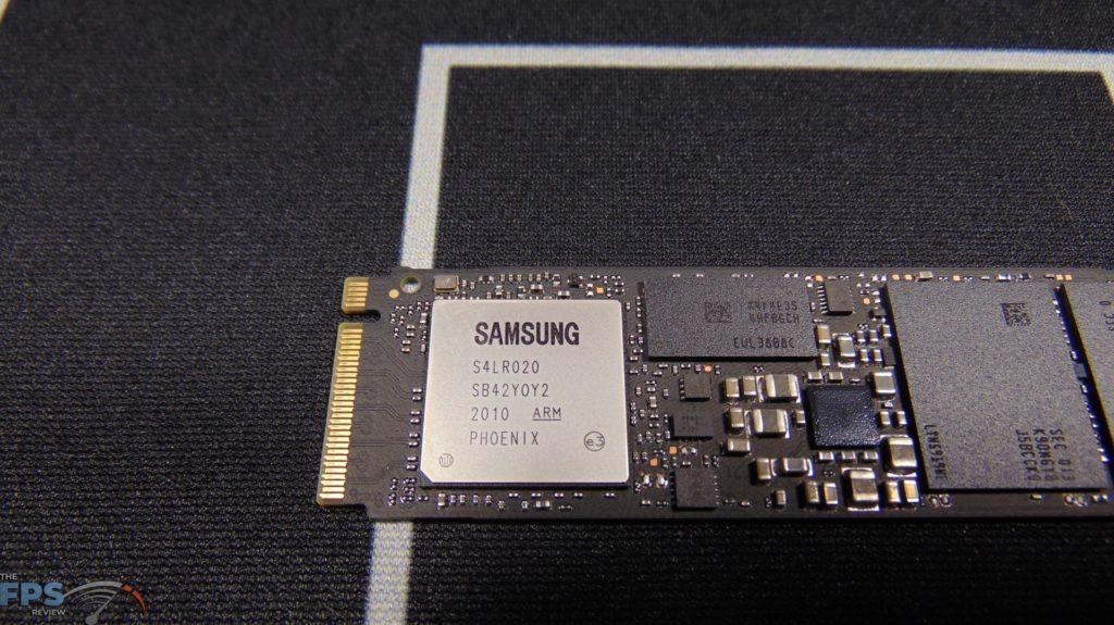 Samsung 970 EVO Plus NVMe M.2 SSD 500GB Closeup of Controller