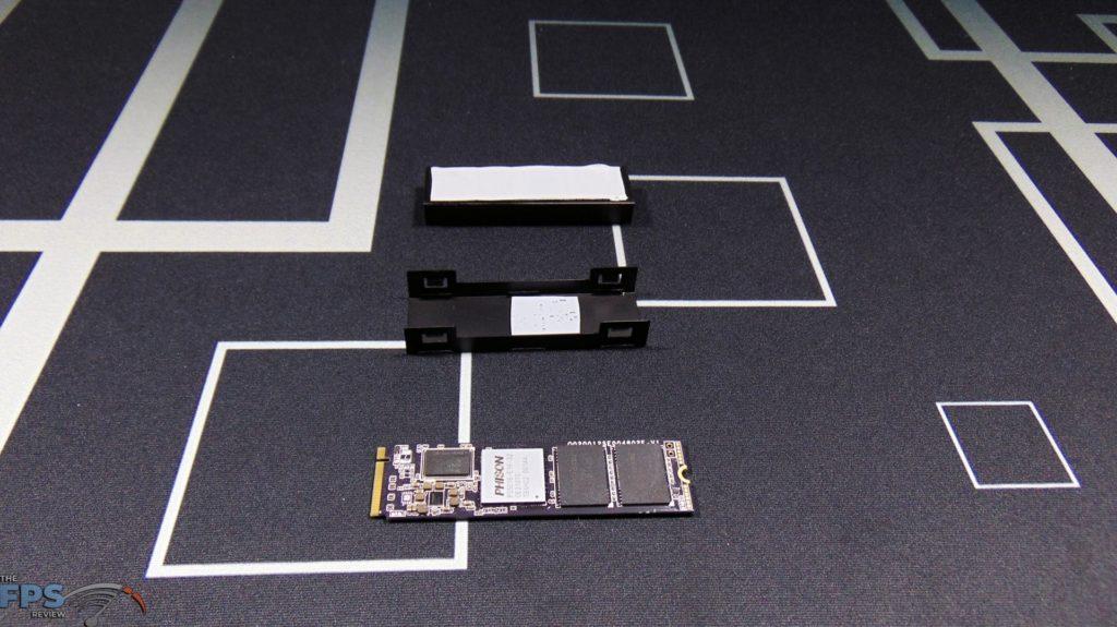 CORSAIR Force Series MP600 1TB Gen4 PCIe x4 NVMe SSD disassembled