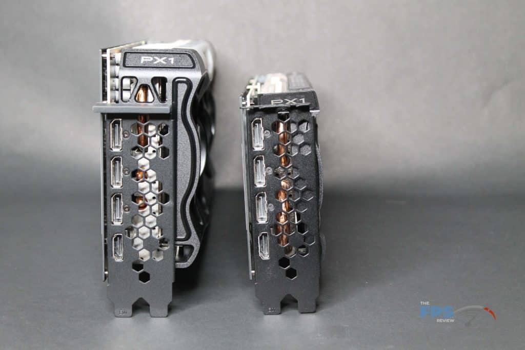 EVGA RTX 3070 XC3 vs FTW3 connectorview