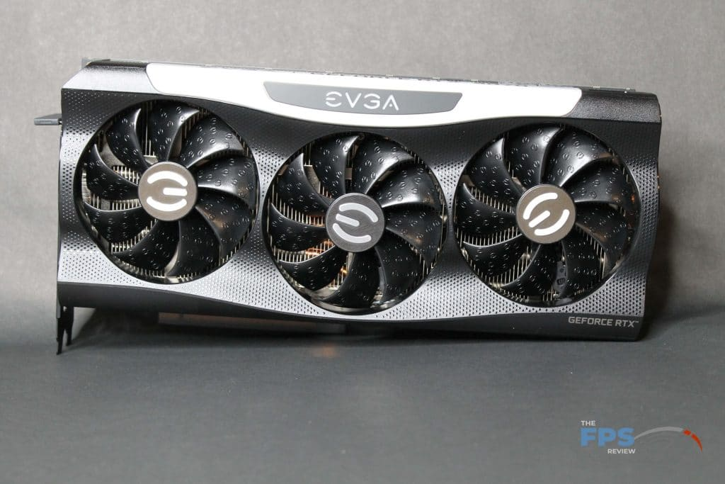 EVGA RTX 3070 FTW ULTRA GAMING  Front view