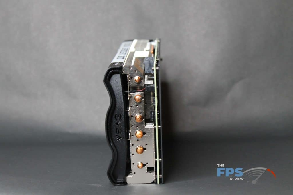 EVGA RTX 3070 FTW ULTRA GAMING back view