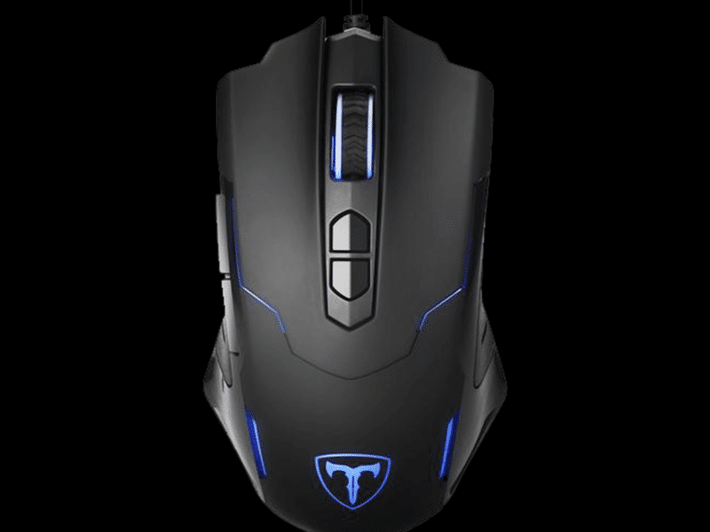 PICTEK T7 Wired Gaming Mouse Top View Featured Image