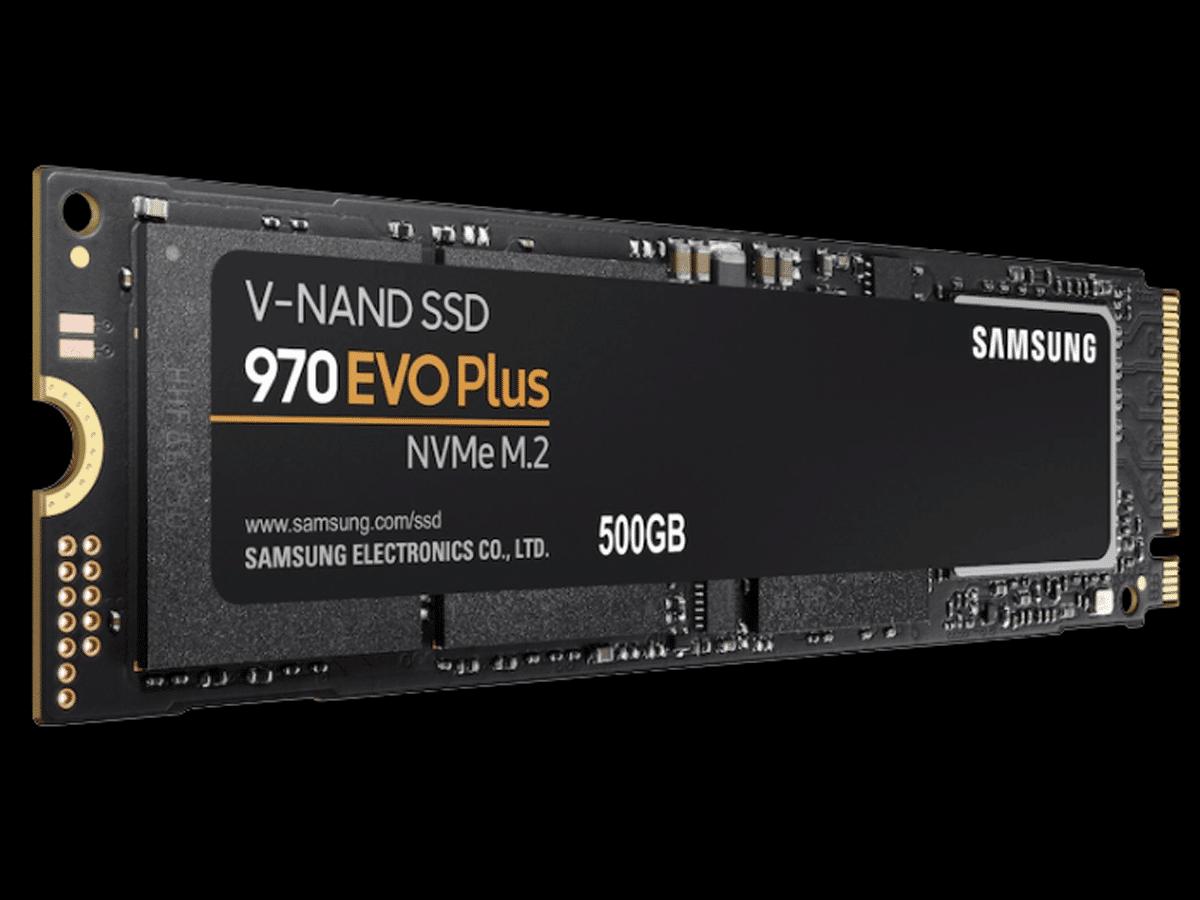 Samsung 970 EVO Plus NVMe M.2 SSD 500GB Featured Image