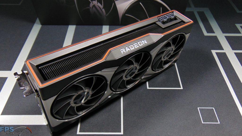 AMD Radeon RX 6900 XT Video Card Top View