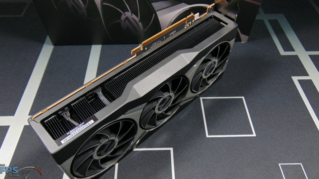 AMD Radeon RX 6900 XT Video Card Bottom View