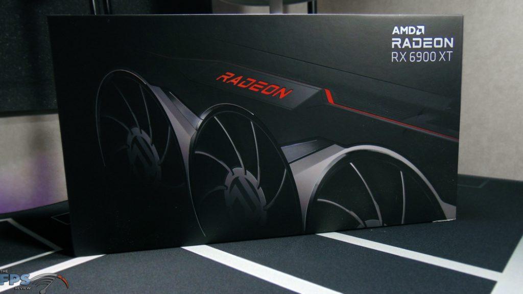 AMD Radeon RX 6900 XT Video Card Box Front