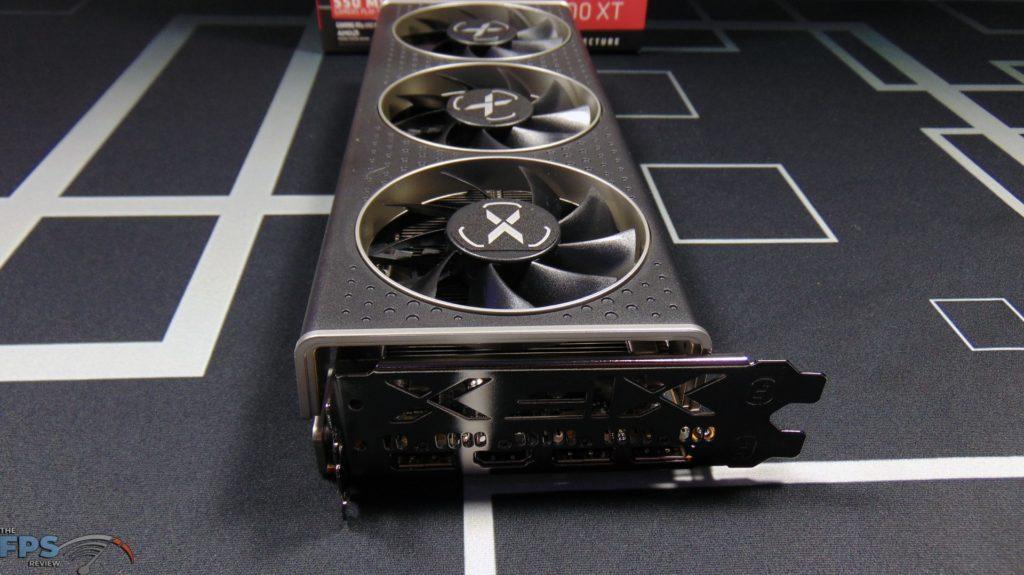 XFX SPEEDSTER MERC 308 Radeon RX 6600 XT Black Front View