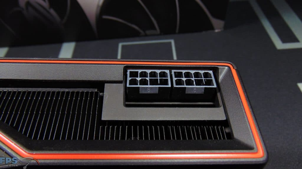 AMD Radeon RX 6900 XT Video Card 8-pin power connectors