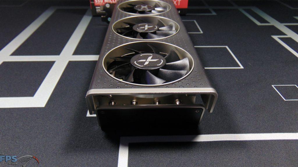 XFX SPEEDSTER MERC 308 Radeon RX 6600 XT Black Back View