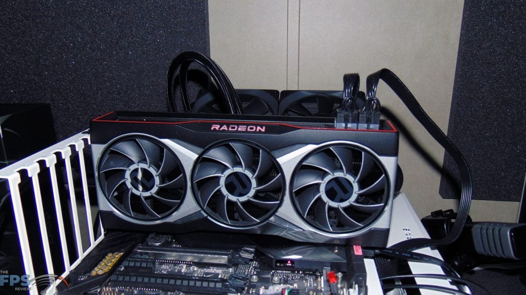 AMD Radeon RX 6900 XT Video Card Installed in System