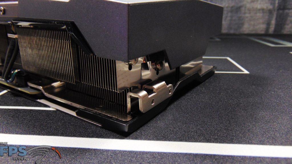 MSI GeForce RTX 3070 Ti SUPRIM X 8G Bracket Attach Point