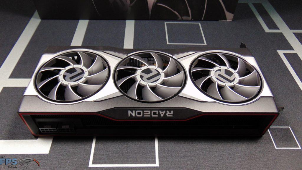 AMD Radeon RX 6900 XT Video Card Top Down View