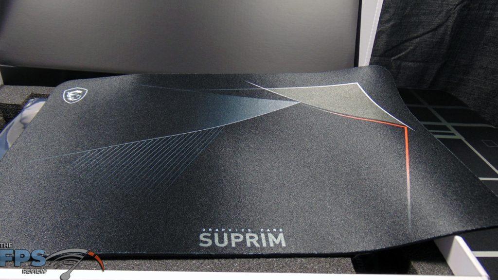 MSI GeForce RTX 3070 Ti SUPRIM X 8G Mouse Pad