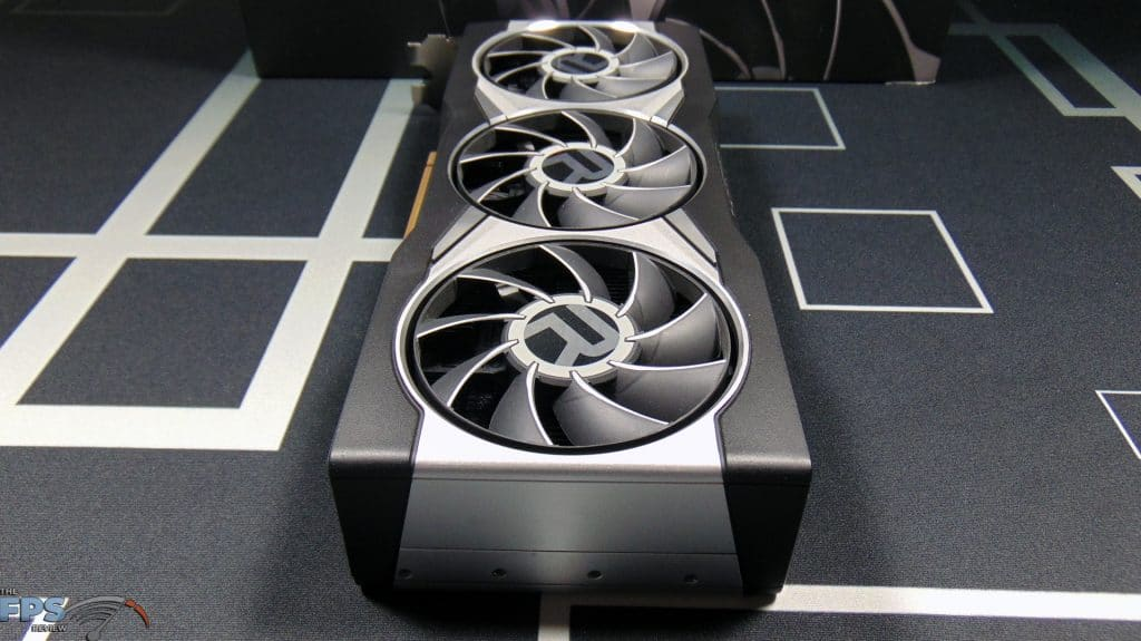 AMD Radeon RX 6900 XT Video Card End View