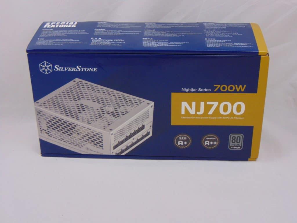 SilverStone NJ700 700W Fanless Power Supply front box