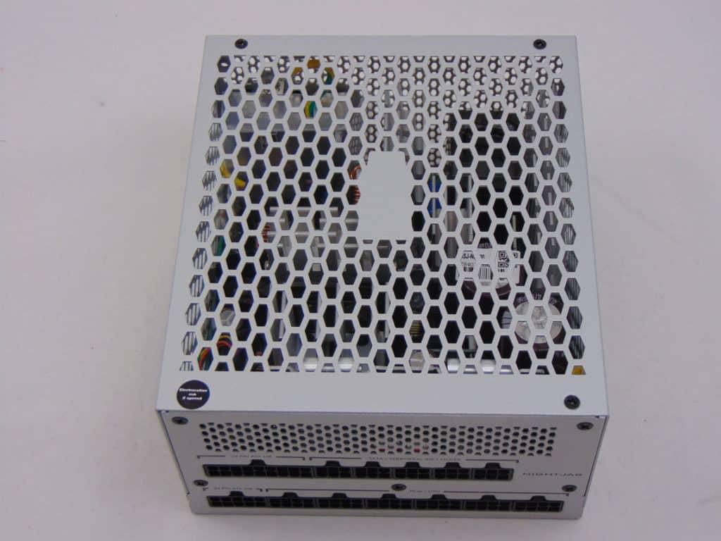 SilverStone NJ700 700W Fanless Power Supply bottom view