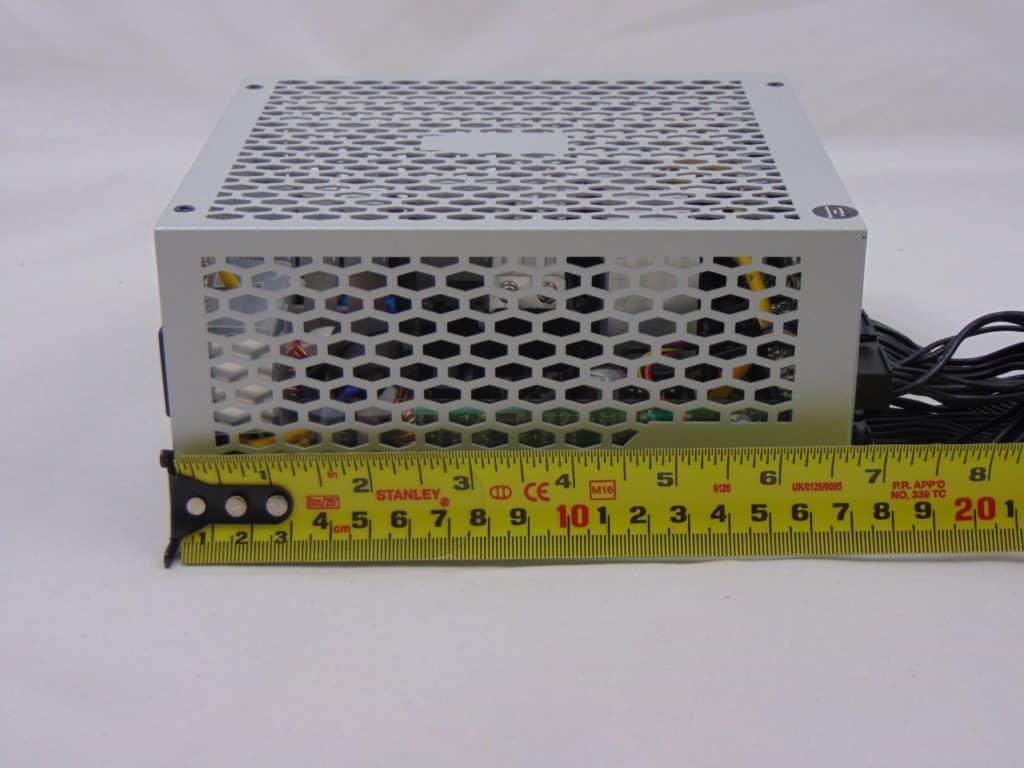 SilverStone NJ700 700W Fanless Power Supply measuring length
