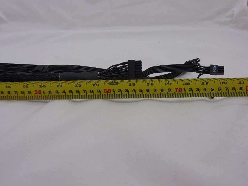 SilverStone NJ700 700W Fanless Power Supply measuring cable length