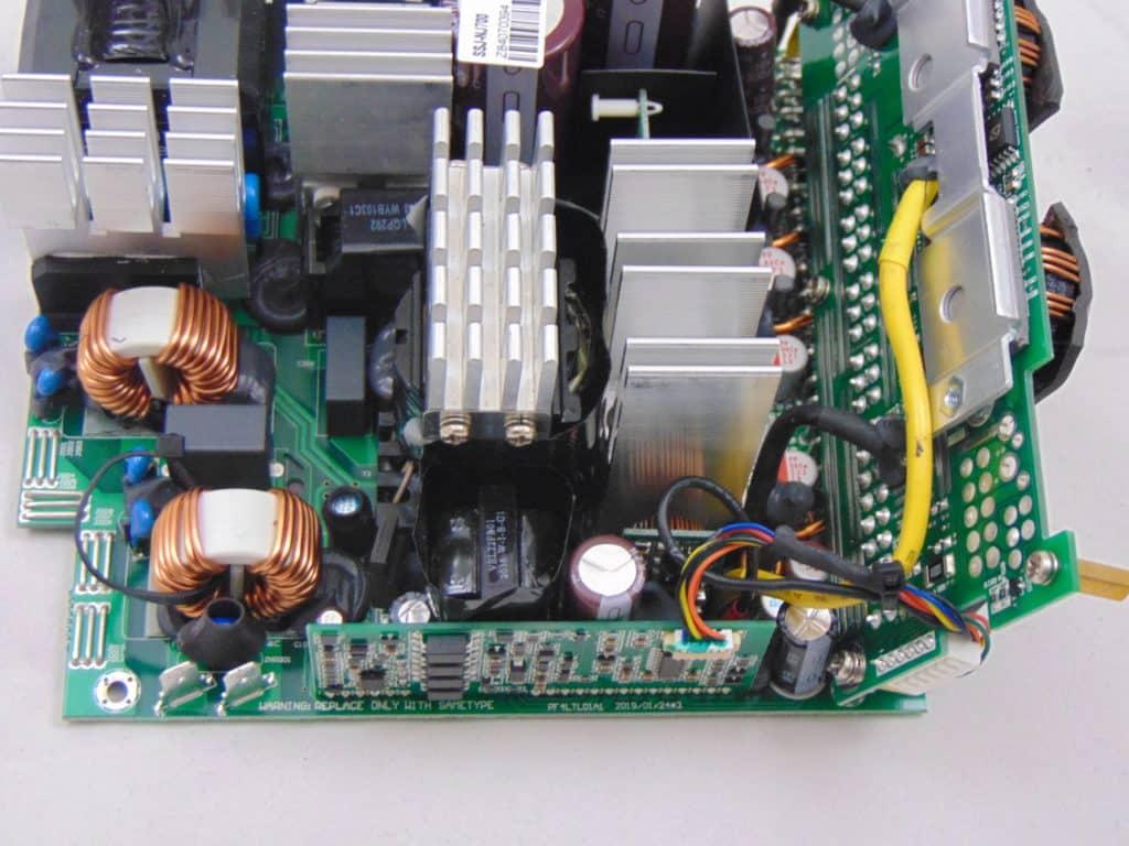 SilverStone NJ700 700W Fanless Power Supply heatsinks