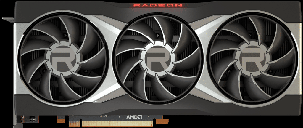 AMD Radeon RX 6900 XT Video Card Front View