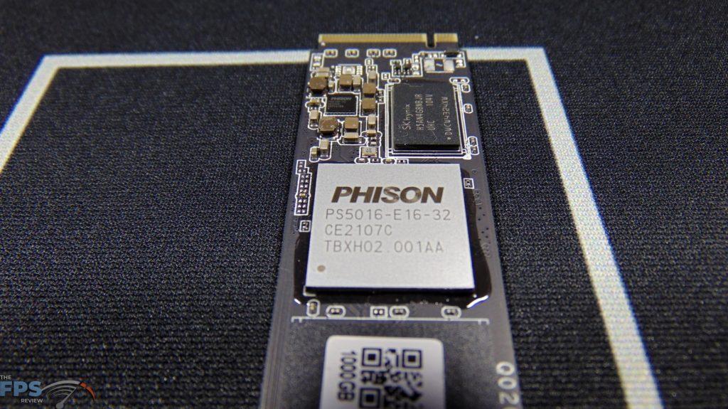MSI SPATIUM M470 1TB PCIe 4.0 Gen4 NVMe SSD Phison E16 Controller