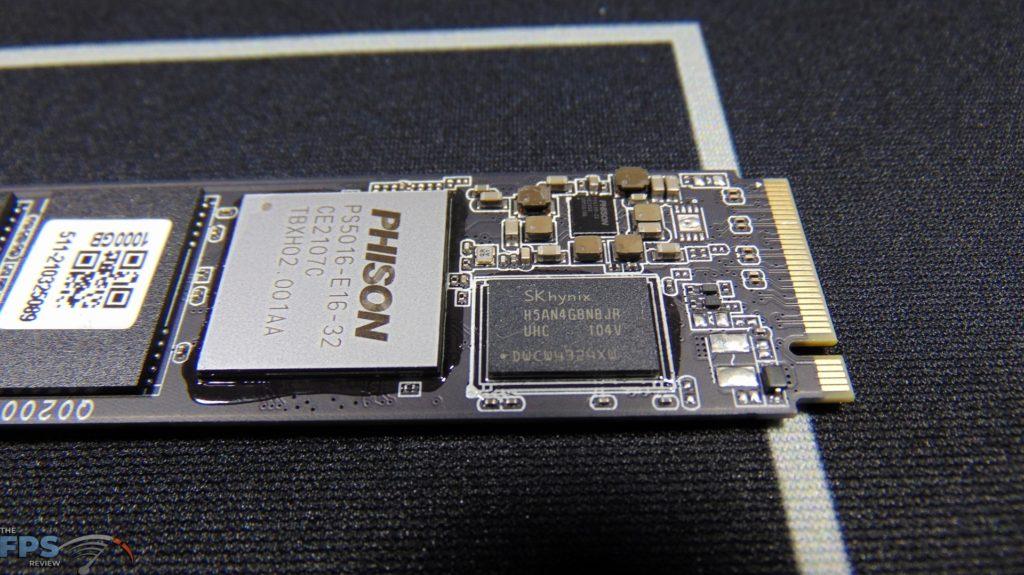 MSI SPATIUM M470 1TB PCIe 4.0 Gen4 NVMe SSD DRAM
