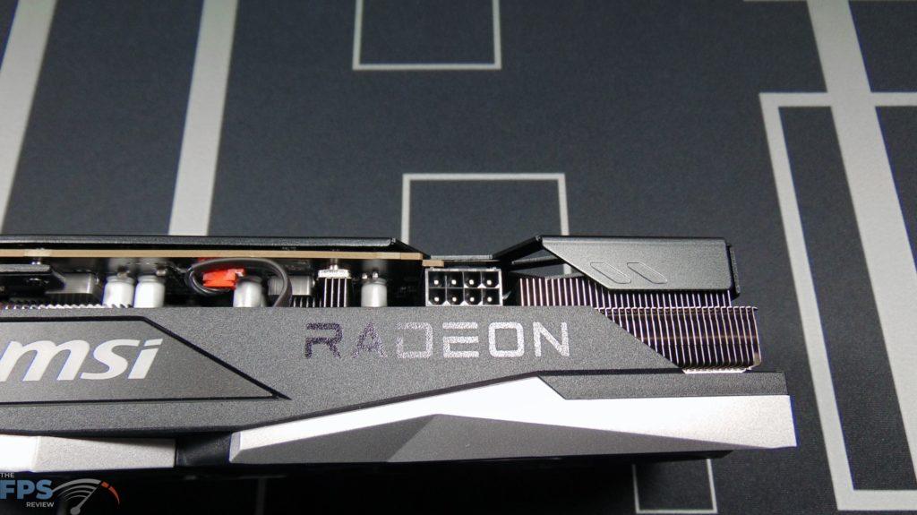 MSI Radeon RX 6600 XT GAMING X Video Card 8-pin power connector