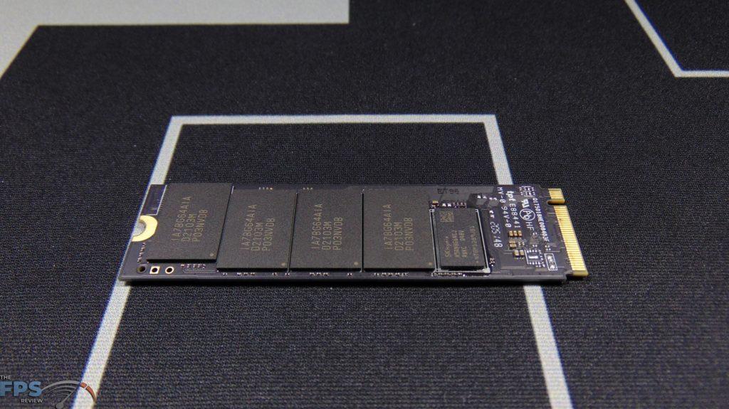 MSI SPATIUM M480 2TB HS PCIe 4.0 Gen4 NVMe SSD Bottom View Bare Drive