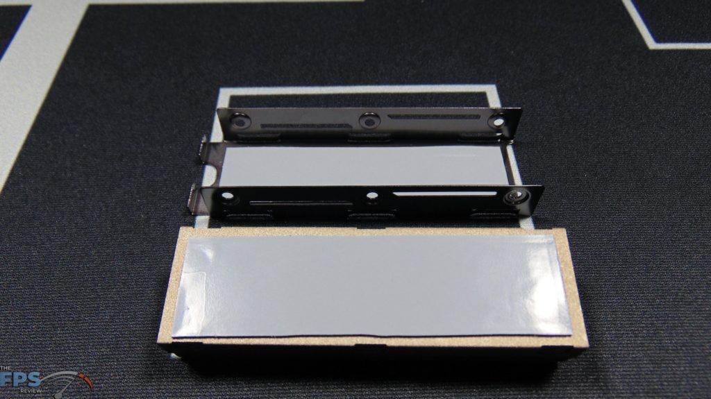 MSI SPATIUM M480 2TB HS PCIe 4.0 Gen4 NVMe SSD Heatsink Thermal Pads