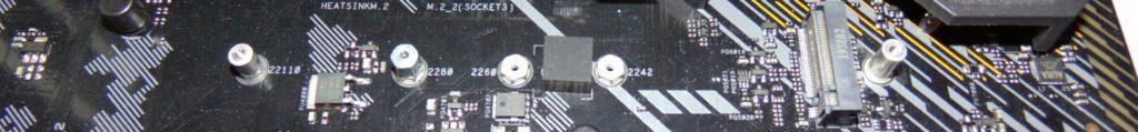 ASUS TUF GAMING X570-PLUS WI-FI Motherboard M.2_2 socket