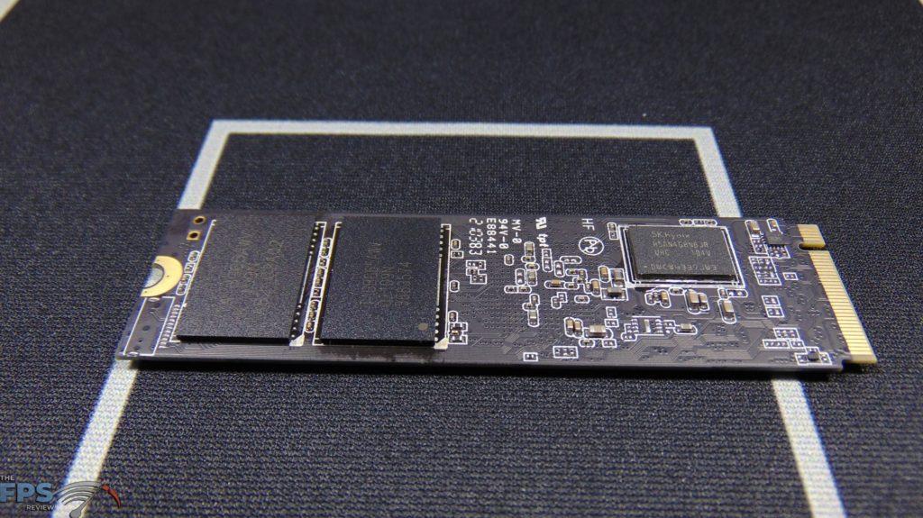 MSI SPATIUM M470 1TB PCIe 4.0 Gen4 NVMe SSD Bare Drive Bottom View