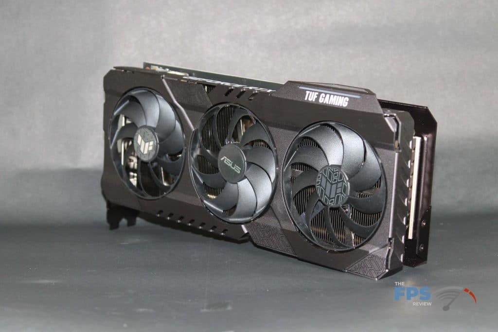 ASUS RTX 3070 TUF GAMING OC front alt angle view