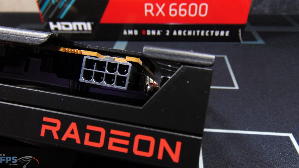 SAPPHIRE PULSE Radeon RX 6600 GAMING Video Card Power Connector