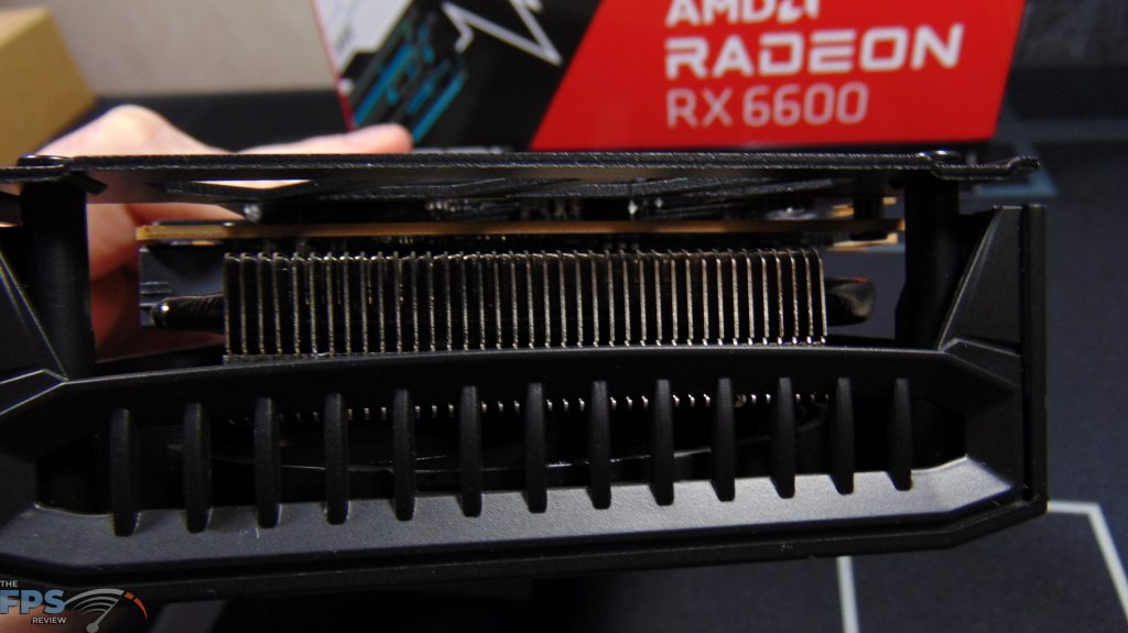 SAPPHIRE PULSE Radeon RX 6600 GAMING Video Card Heatsink