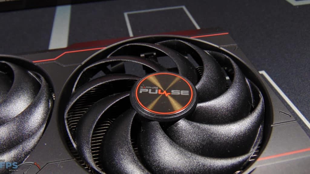 SAPPHIRE PULSE Radeon RX 6600 GAMING Video Card Fan