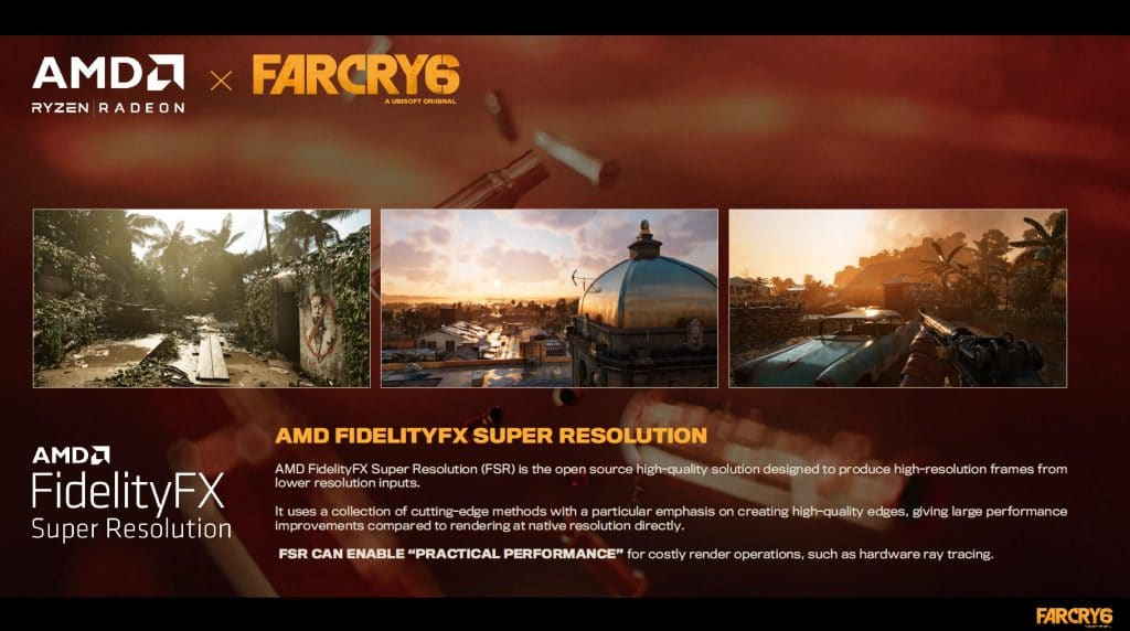 Far Cry 6 AMD FidelityFX Super Resolution Reviewers Guide